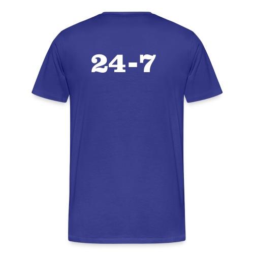 twenty-four-seven - Männer Premium T-Shirt