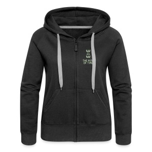 King of Time - Frauen Premium Kapuzenjacke