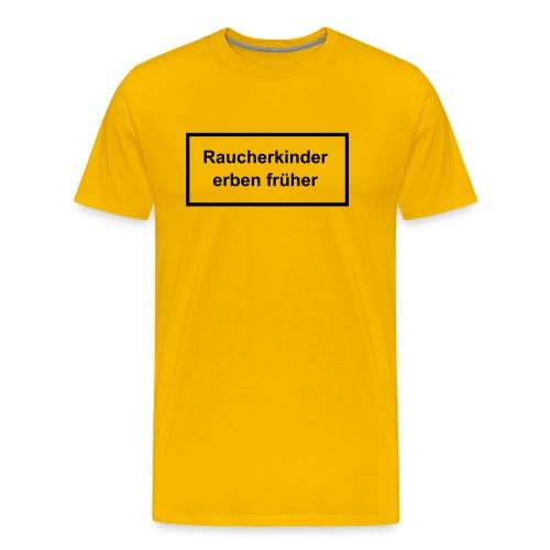 Raucher T-Shirt - Männer Premium T-Shirt
