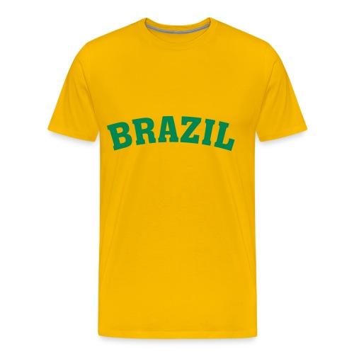 Brazil - Männer Premium T-Shirt