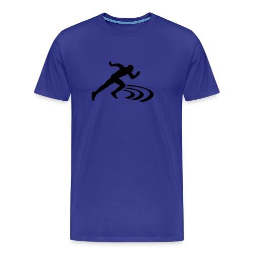T-Shirt, blau - Männer Premium T-Shirt