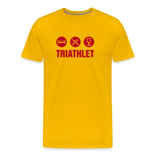 Urlaubs-Olympionike - Männer Premium T-Shirt