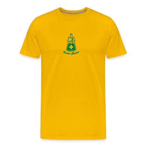 Streuer Basic Yellow - Männer Premium T-Shirt