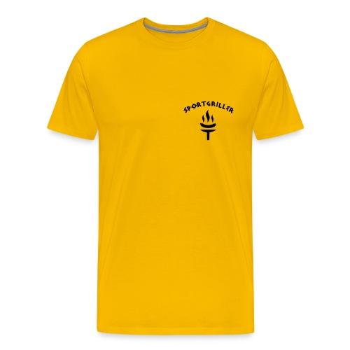Sportgriller Shirt gelb - Men's Premium T-Shirt