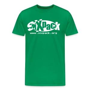 Sixpack Streetware T-Shirt Grün - Männer Premium T-Shirt