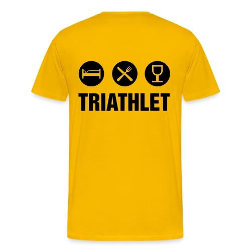 Triatlet - Männer Premium T-Shirt