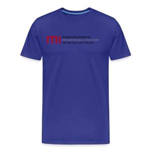 MI @ HdM (hblau) - Männer Premium T-Shirt