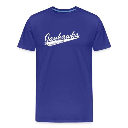 Jayhawks Baseballstyle royal - Männer Premium T-Shirt