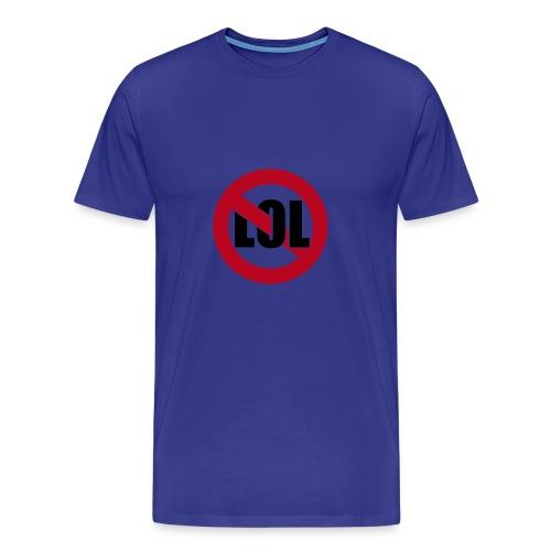 noLOL blue - Männer Premium T-Shirt