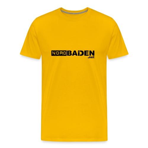 nordbaden shirt - Männer Premium T-Shirt