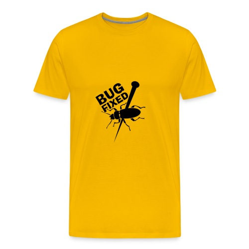 BUG FIXED T-shirt - Männer Premium T-Shirt