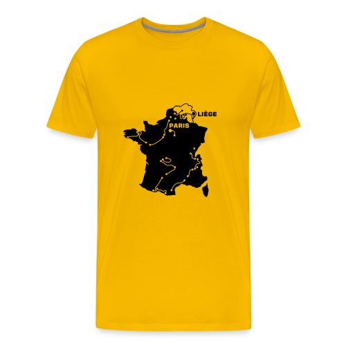 T-Shirt Tour de France 2004 - Männer Premium T-Shirt