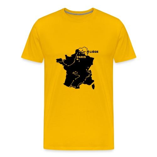 T-Shirt Tour de France 2004 - Männer Premium T-Shirt