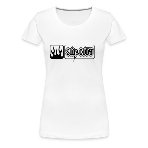 SinCity Flames - Frauen Premium T-Shirt