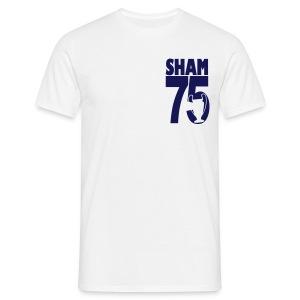 SHAM 75 - EUROPEAN CUP 75 - LEEDS SALUTE PLACEMENT - Men's T-Shirt