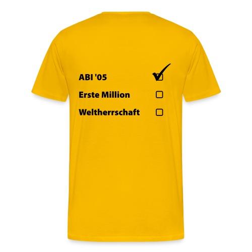 ABI ELITE - Männer Premium T-Shirt