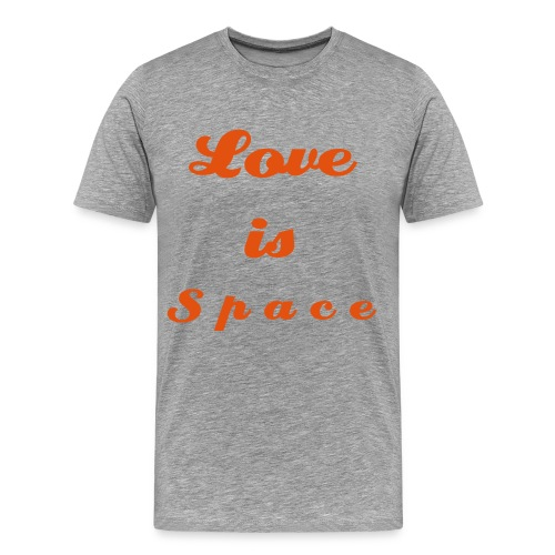 Love is Space - Männer Premium T-Shirt