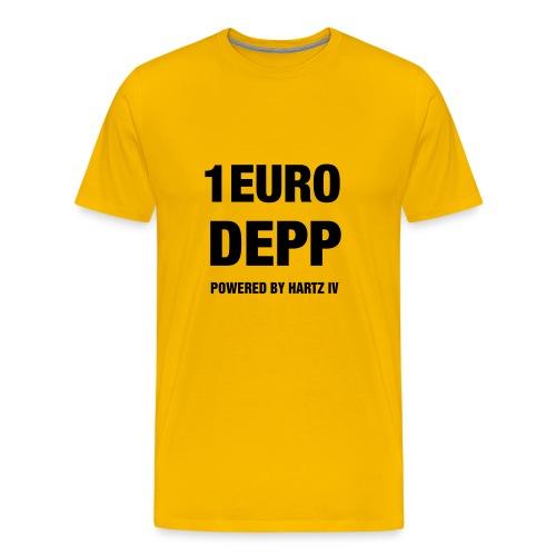 1 Euro Depp - Männer Premium T-Shirt