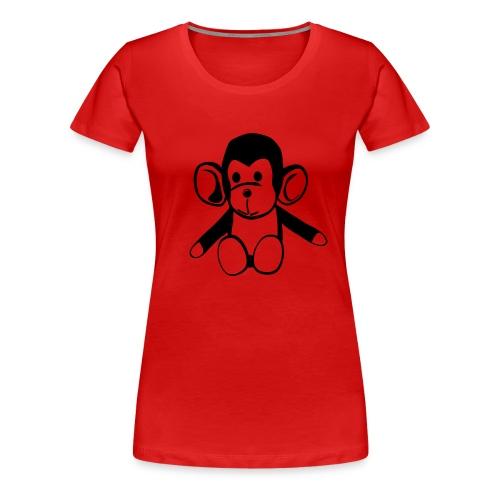 shirt ape - Frauen Premium T-Shirt