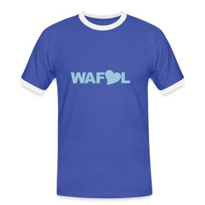 WAFLL - ACRONYM FROM AN OLD LEEDS CHANT - Men's Ringer Shirt
