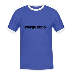 WAFLLEEDS - OLD LEEDS CHANT ACRONYM - Men's Ringer Shirt