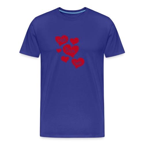 Hab dich lieb - Männer Premium T-Shirt