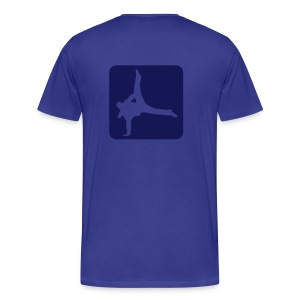 DoubleOne Dance Blue - Men's Premium T-Shirt