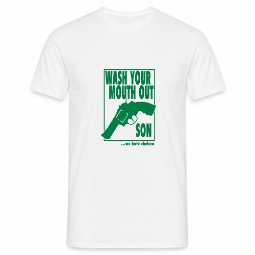 WASH... - WE HATE CHELSEA - Men's T-Shirt