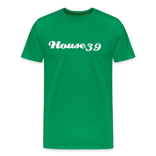 House39-Green/White - Männer Premium T-Shirt