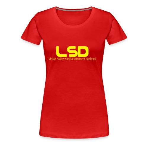 Girlie LSD Red - Frauen Premium T-Shirt