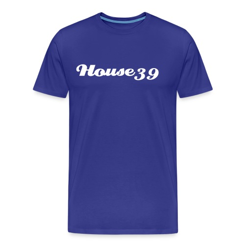 House39-Blue/White - Männer Premium T-Shirt