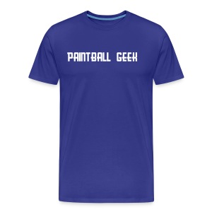 PAINTBALL GEEK T-paita - Men's Premium T-Shirt