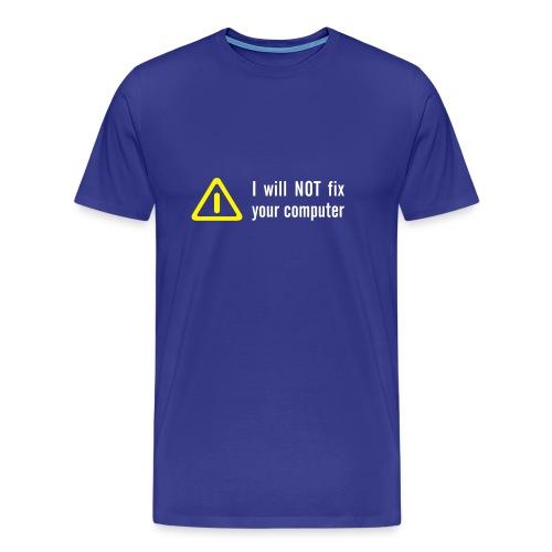Administrator - Männer Premium T-Shirt