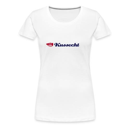 Kussecht - Frauen Premium T-Shirt