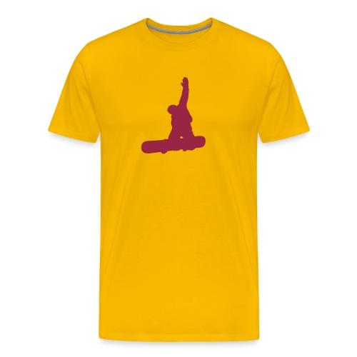 SNOWBOARDING - Männer Premium T-Shirt