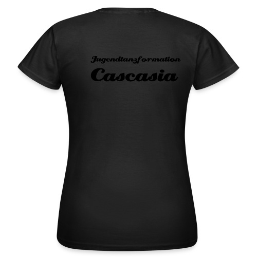 Cascasia Shirt mit Name - Frauen T-Shirt