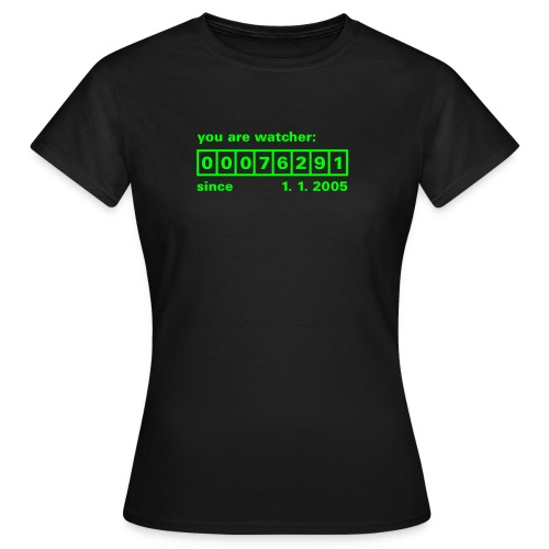 Counter I - Frauen T-Shirt