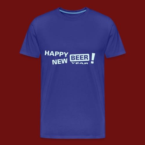 HAPPY NEW BEER - Männer Premium T-Shirt