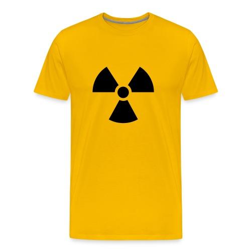 SR - T-Shirt (gelb) - Männer Premium T-Shirt