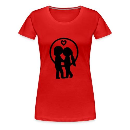 Amors Hilfe - Frauen Premium T-Shirt
