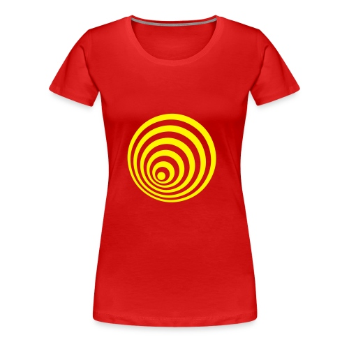 Optical crazy - T-shirt Premium Femme