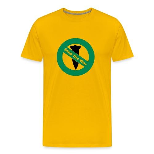 NO WAR HOMME YELL - T-shirt Premium Homme
