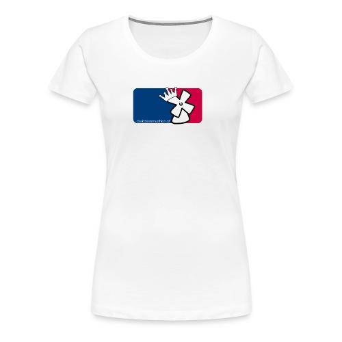 dkm_mlb-style_girlie - Frauen Premium T-Shirt