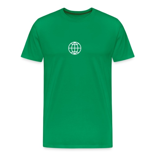 Summer tour globe - Mannen Premium T-shirt