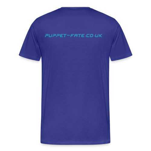 Burn the Puppet Navy/Blue Stedman - Men's Premium T-Shirt