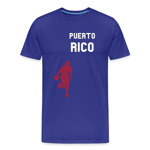 Puerto Rico Blue - Men's Premium T-Shirt