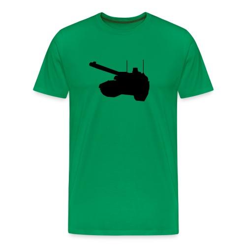 Panzer grün - Männer Premium T-Shirt