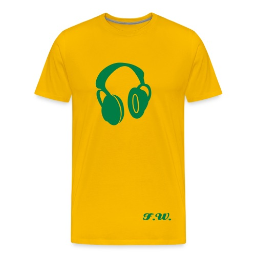 T-shirt Yellowgreen p1 - T-shirt Premium Homme