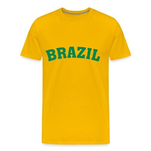 BRAZIL - T-shirt Premium Homme