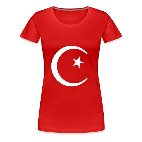 Türkei Wappen - Frauen Premium T-Shirt